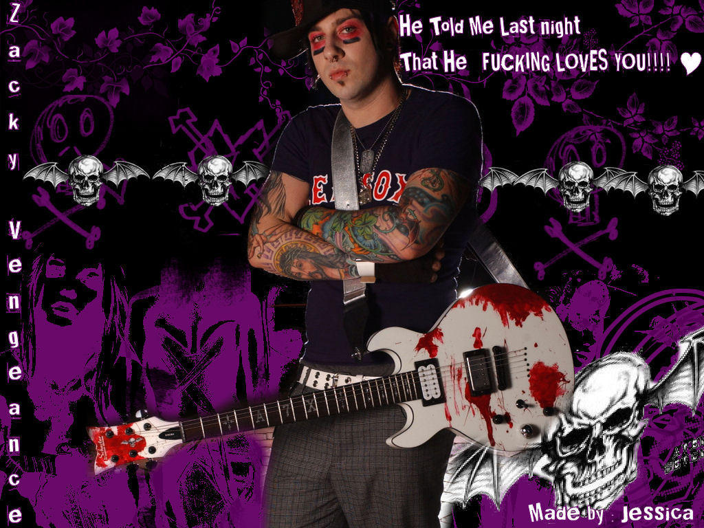 Zacky Vengeance again by Nymphetamine6661