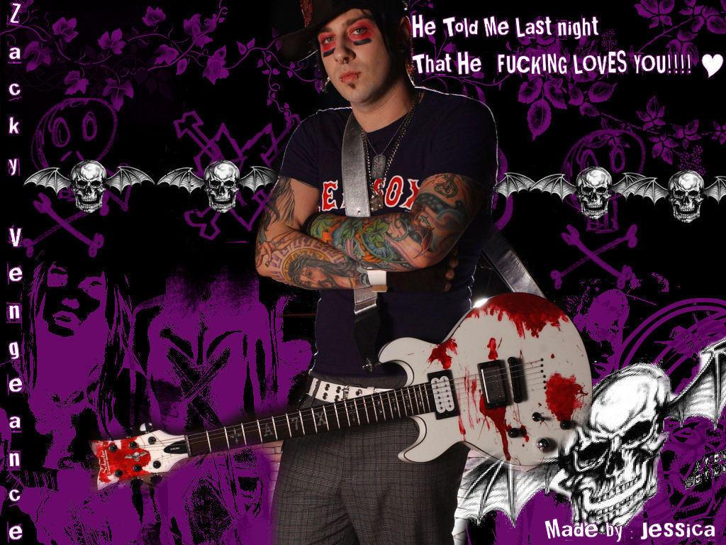 Zacky Vengeance again by Nymphetamine6661