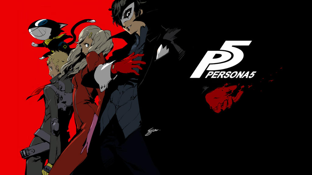 Persona 5 Phantoms Colored By LazyAxolotl