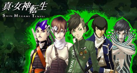 Shin Megami Tensei - Wallpaper by LazyAxolotl