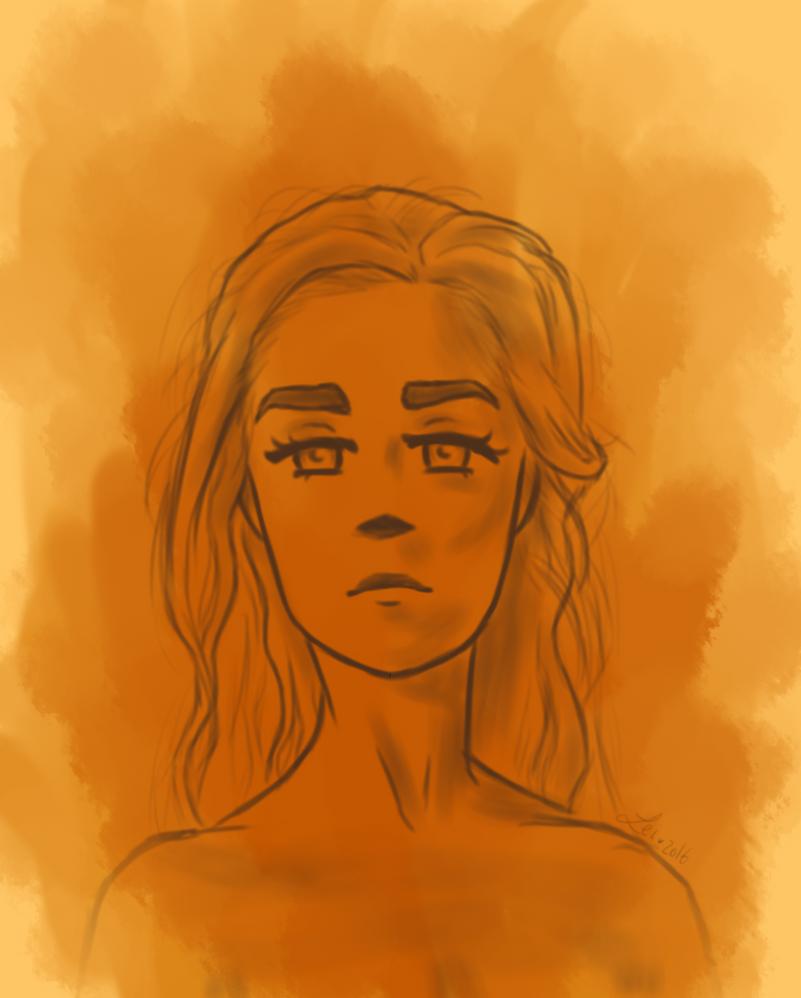 Daenerys - The Unburnt by Leilani-kitty