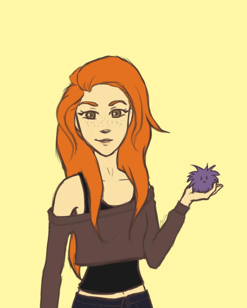 Ginny Weasley by Leilani-kitty