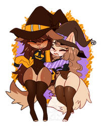 Witch Girlfriends by Barabii