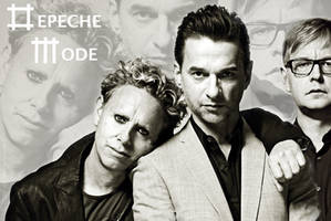 Depeche Mode wallpaper 2009j by morgain-ized