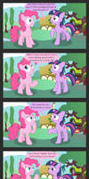 Pinkie doesn't do sarcasm