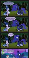 You made Luna sad