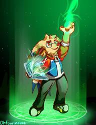 Summoning magic :D