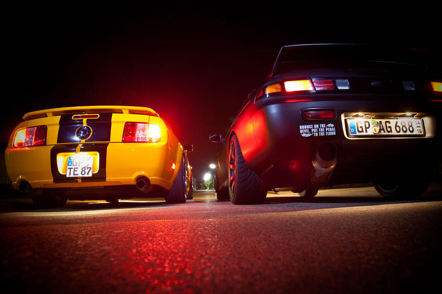 Import Vs Muscle By On Deviantart