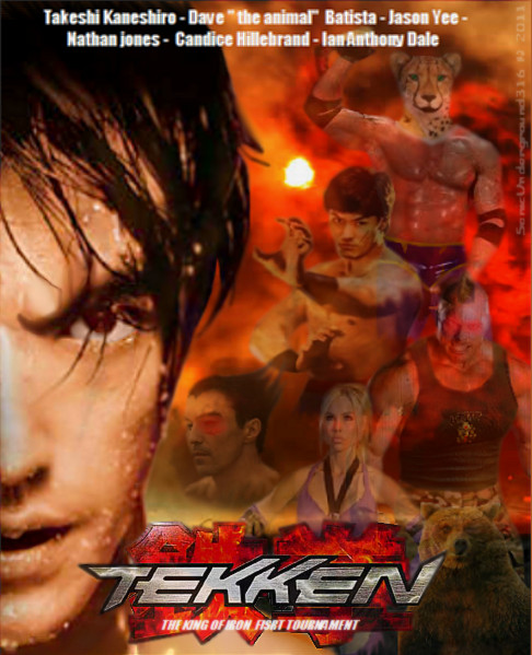 Tekken movie poster by SonicUnderground316 on DeviantArt