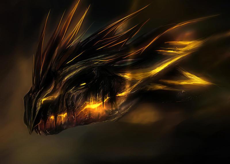 Dragon awakens by Mndcntrl