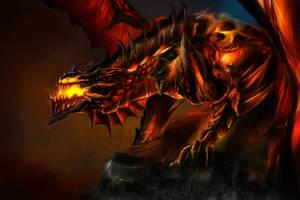 Deathwing awakens by Mndcntrl