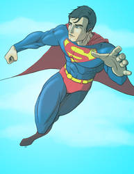 Superman Commission by sweetjimmy