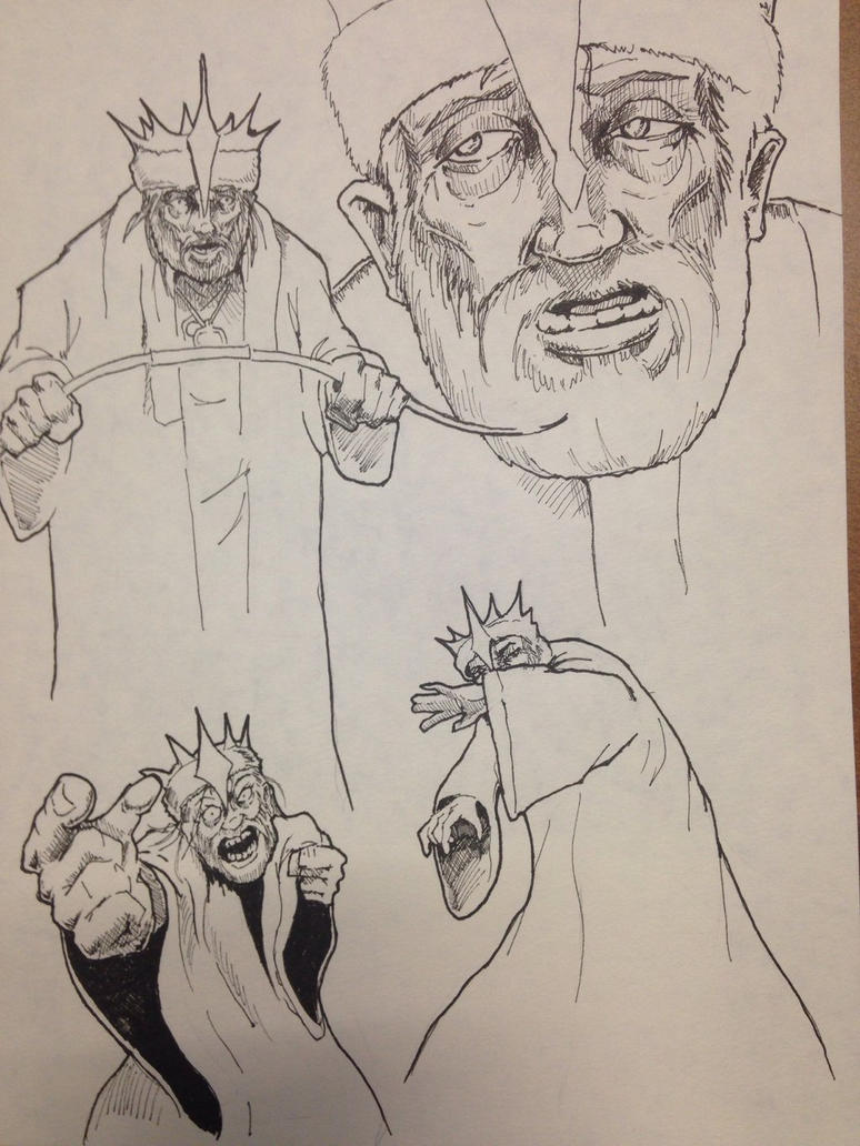 Saul studies by sweetjimmy