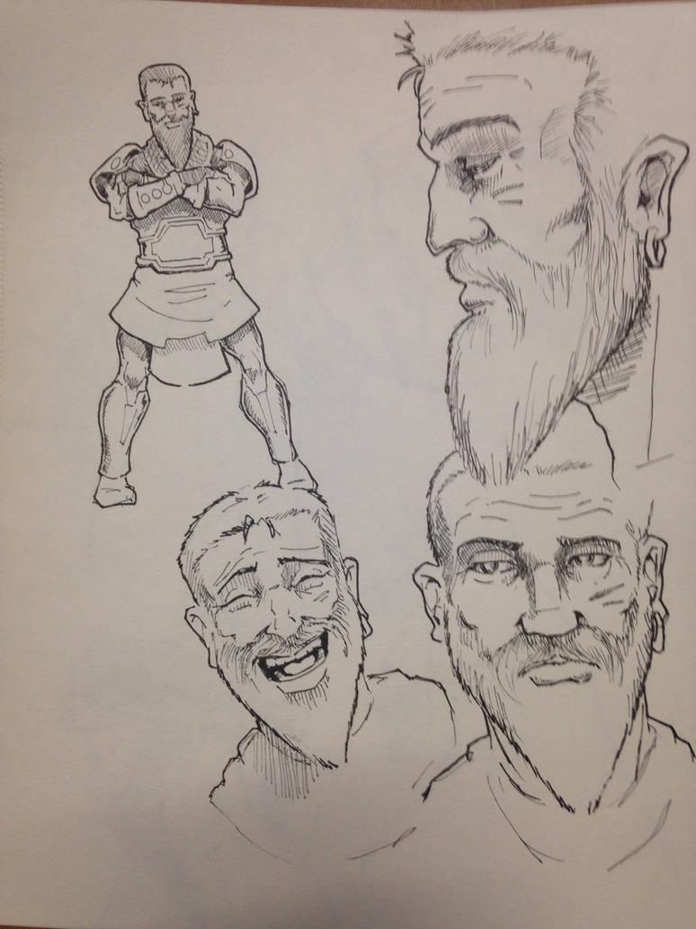 Benaiah studies by sweetjimmy