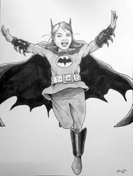 Batgirl by sweetjimmy