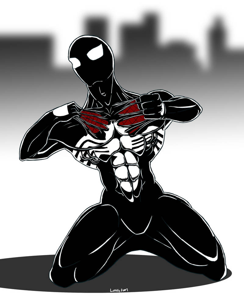 Symbiotic Spiderman by sweetjimmy