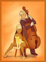 Jaunty Orange by ME-B