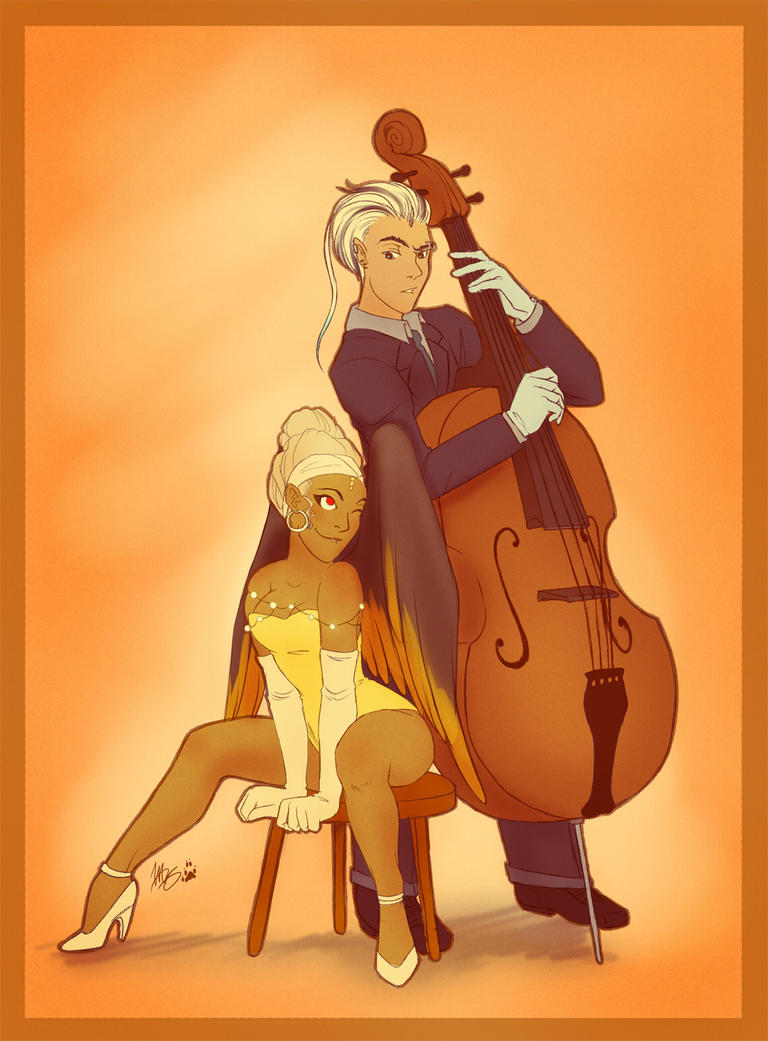 Jaunty Orange by Lyiba-MoonEyes