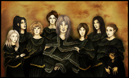 The Witches of Izalith by ME-B