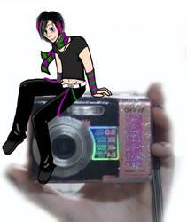 Itachi the Camera by OctoTrash