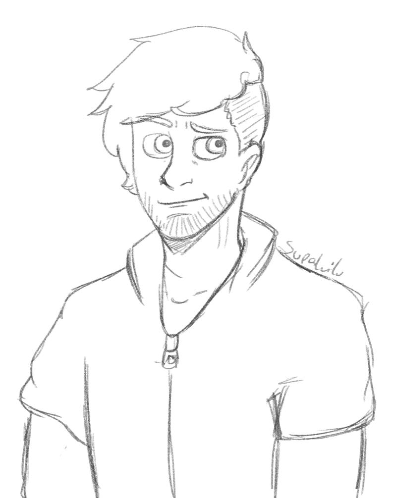Josh-sketch by supaluilu