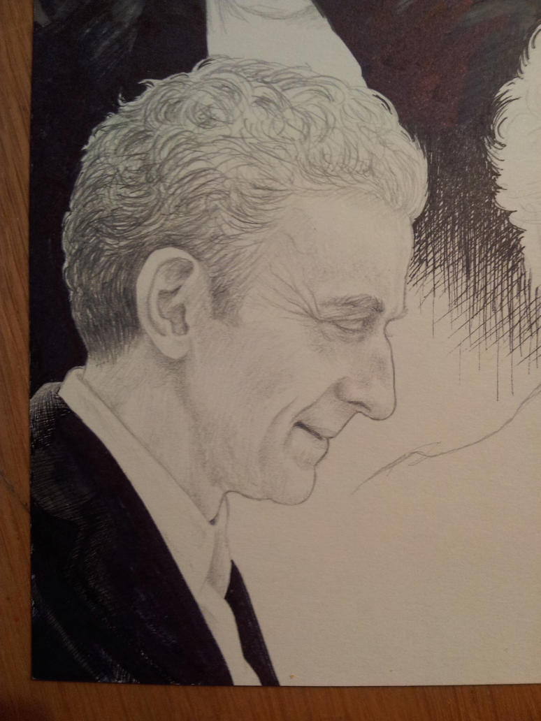 12th Doctor WIP by LittleGreyDragon
