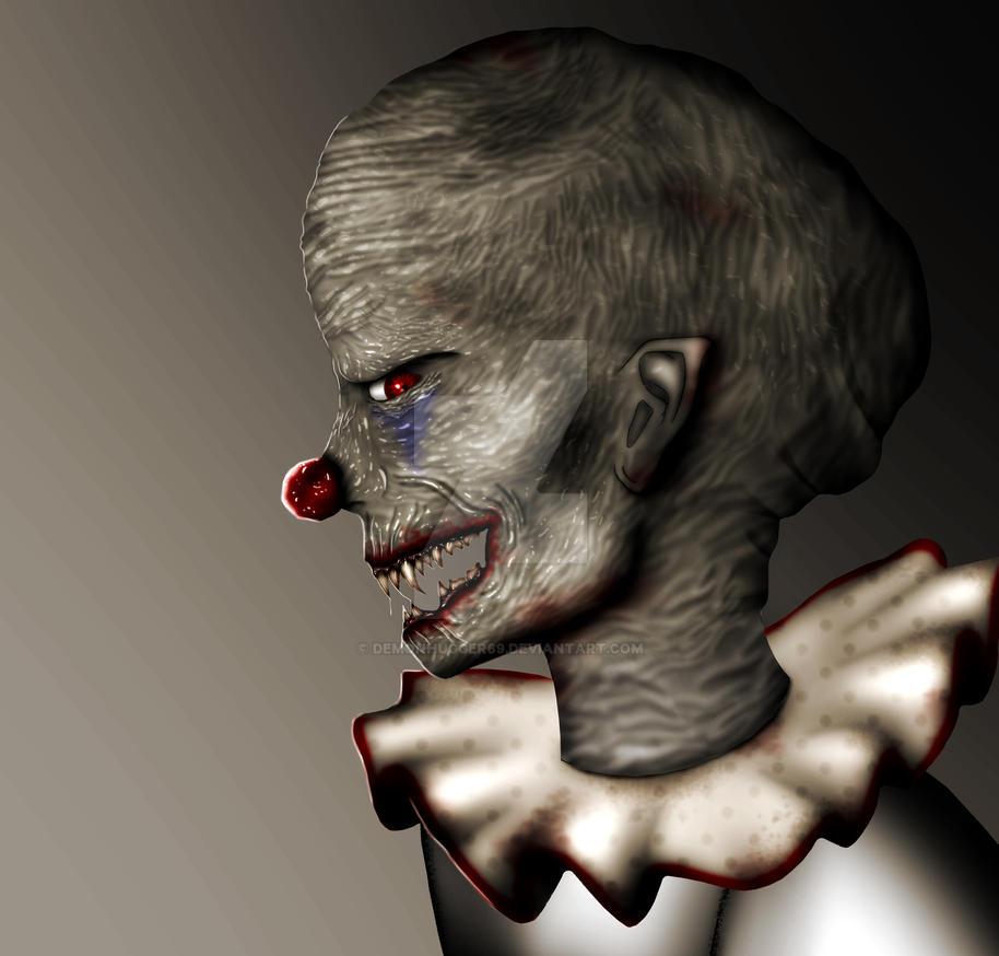 Clown by Demonhugger69