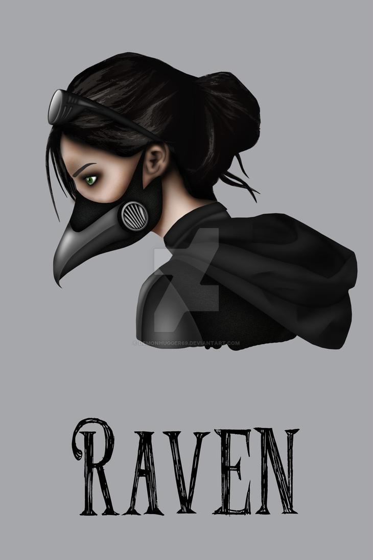 Raven by Demonhugger69