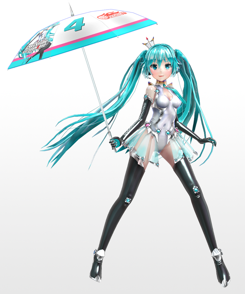 Digitrevx 2013 Racing Miku by TOUKO-P