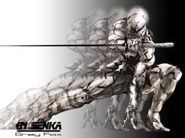 Grey Fox From Metal Gear Solid by Senka by Senka-chan