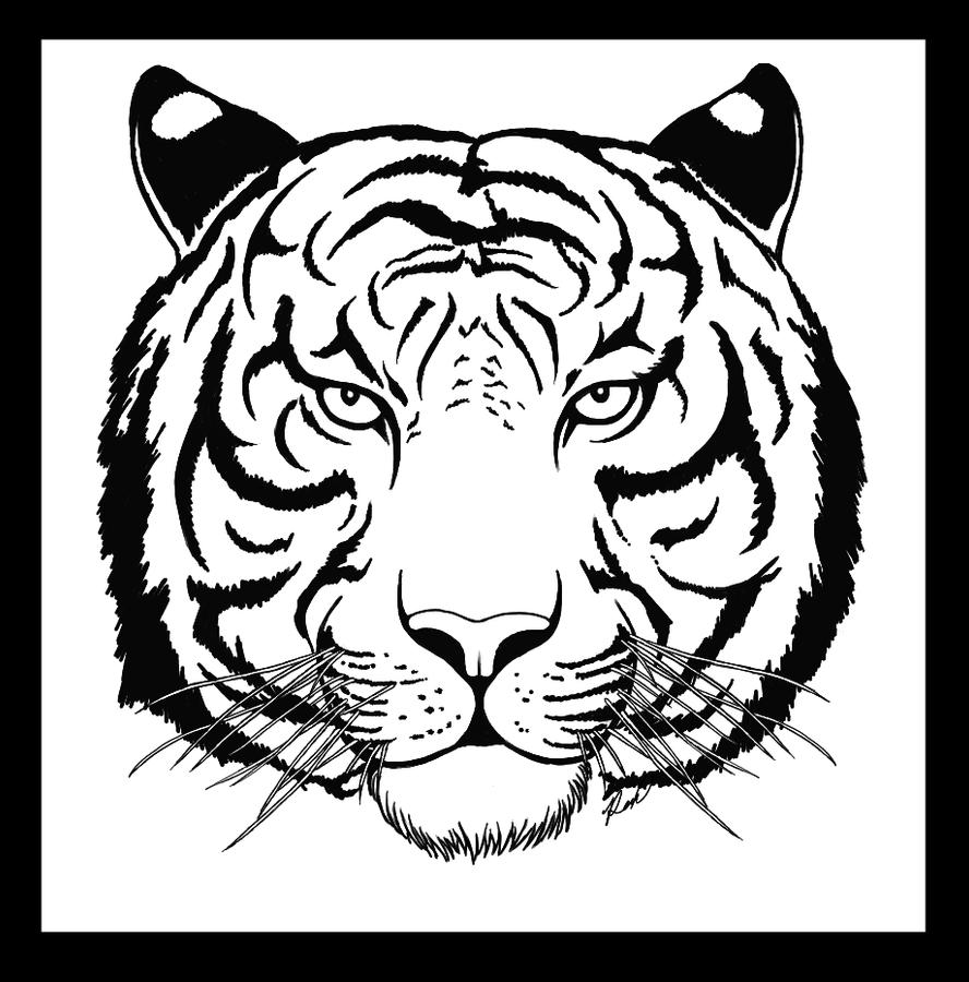 White Tiger Tattoo By Hellsong Diabla