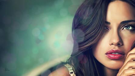 Adriana Lima by HeliX4