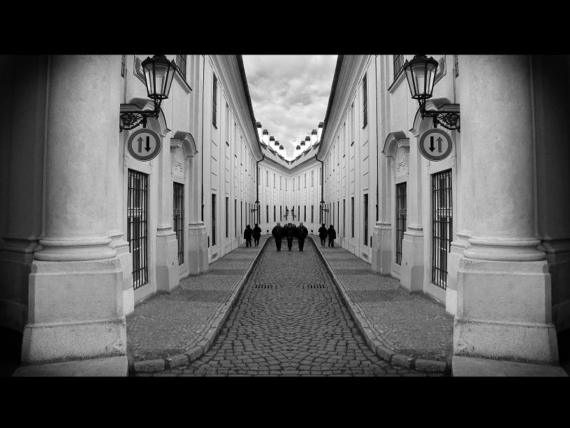 Prague street by si-jay
