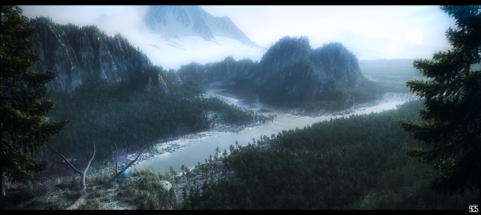 Mountain by Cesium55DA