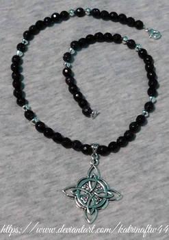 Celestial Celtic Compass Necklace