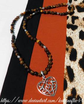 Celtic Tiger's Eye Necklace
