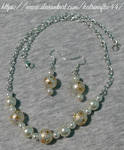 Tensha and Pearl Necklace set by KatrinaFTW44