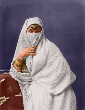Veiled Algerian Woman