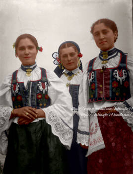 Croatian Girls from Donja Dolina