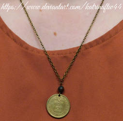 10 Escudos Coin Necklace