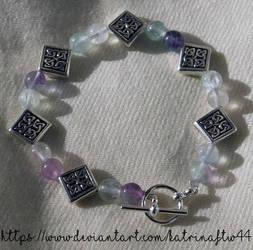 Celtic Fluorite Bracelet by KatrinaFTW44