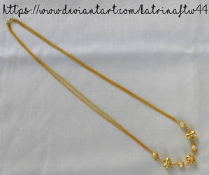 South Indian Inspired Necklace by KatrinaFTW44