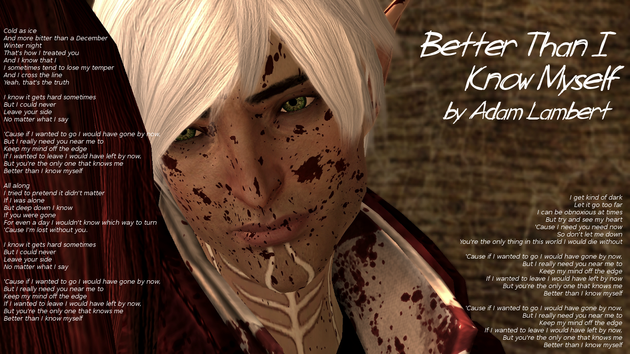 Dragon Age 2 Fenris Better Than I Know Myself By Pariswriter On