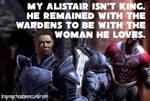 Dragon Age Headcanon: Warden!Alistair by ParisWriter