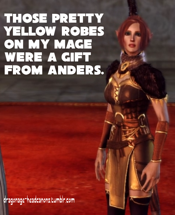 Gifts In Dragon Age Origins