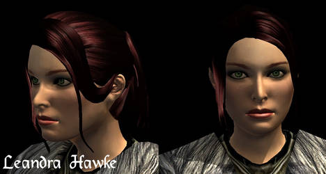 Dragon Age Character Concept: Lenadra Hawke by ParisWriter