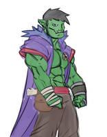 Orc Wizard by DarkEros