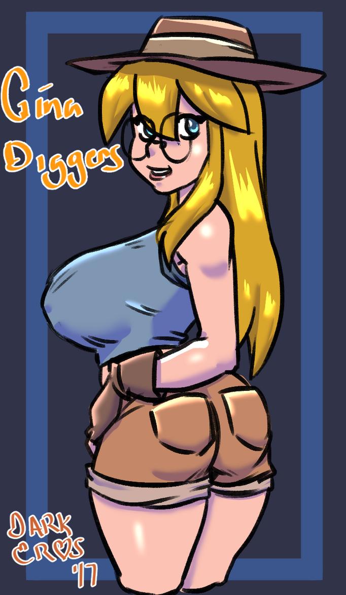 Gina Diggers by DarkEros