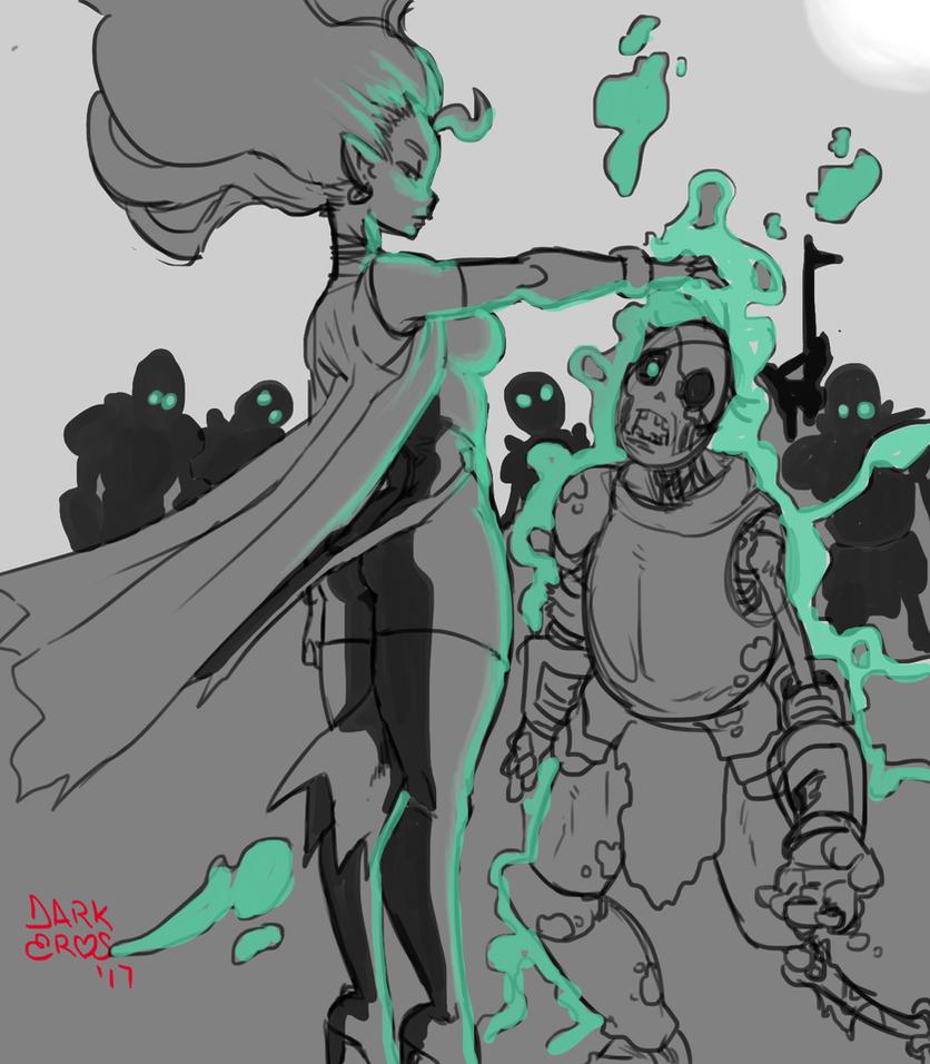Necromancer by DarkEros