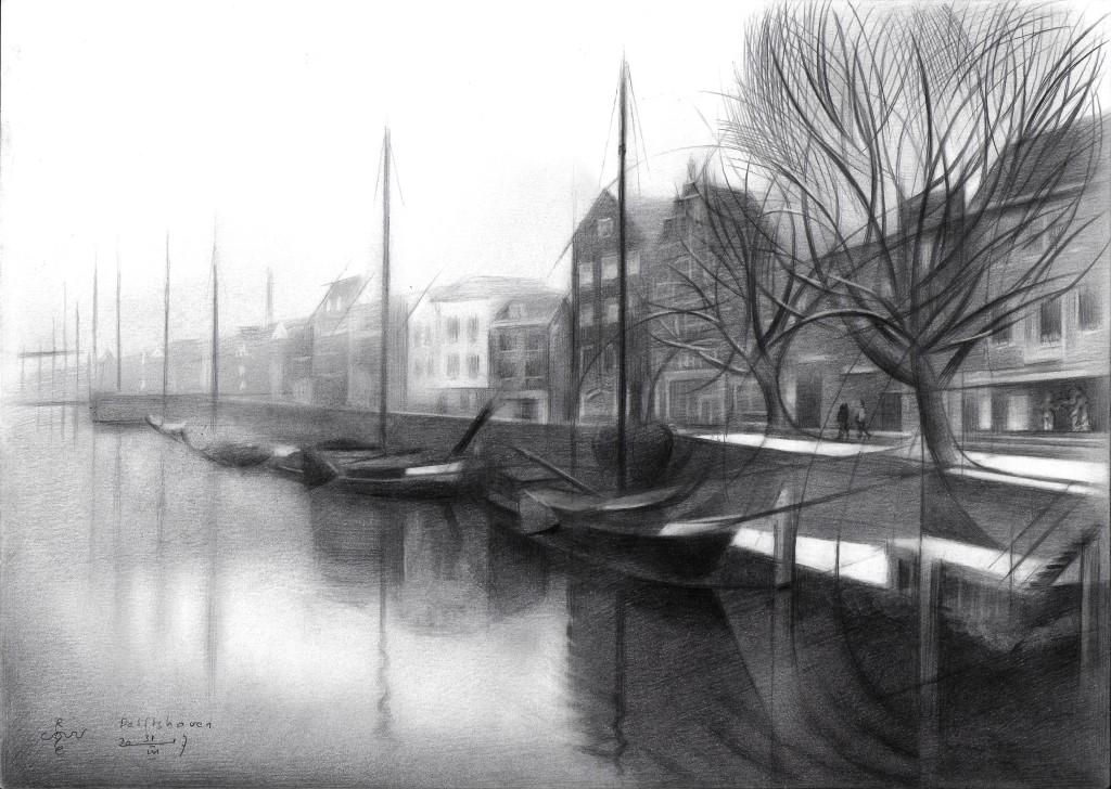 Rotterdam - Delftshaven - 31-03-17 (sold)